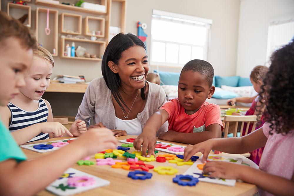 Expert Teachers Help Build Up Their Minds