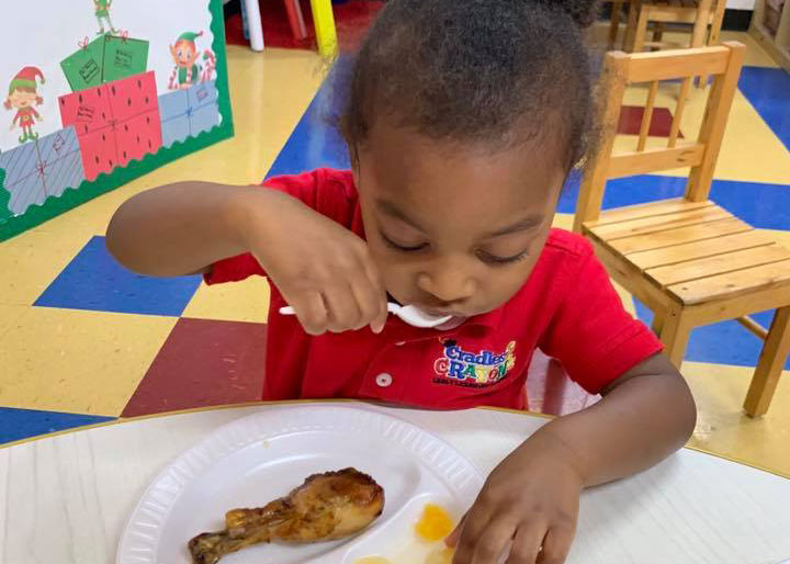 Nutritious, Healthy Meals Are Included In Tuition