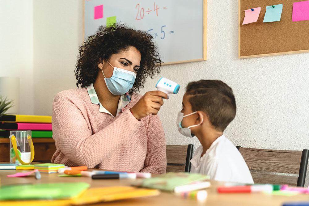 Temperature And Health Screenings Ensure Wellness